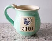 Gigi Mug, ready to ship, Holds 14 oz