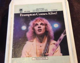 Peter Framton Comes Alive -  8 Track Tape Free Shipping
