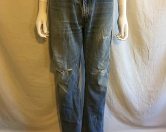 Levi's 505 Regular Fit Straight Leg 90s Jeans Waist W 35