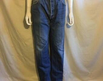 Closing Shop 40%off SALE LEVIS 501 denim high waist jeans pants   Waist W 34