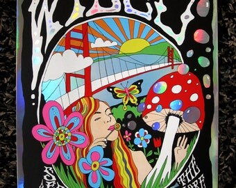 Wilco - Official poster - SF - Fillmore- Holofoil