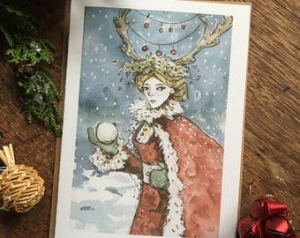 The Snowball, Christmas Card, 1 Card