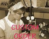 Custom order for Pam
