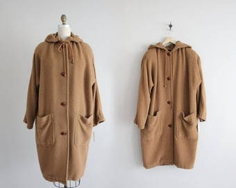 25% OFF SALE alpaca coat | voluminous wool coat | hooded coat