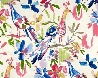 Bird valance Kelly Ripa valance flora flaunt confetti valance floral valance bird decor