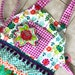 floral frills apron with attitude