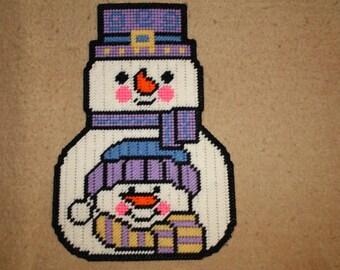 Snowman snowman wall hanging