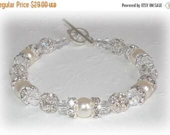 ON SALE 20% OFF Bliss Pearl Brilliance Bracelet