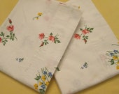 Vintage Pacific Pillowcases - Truth Muslin Pillowcase Pair - Multi Floral Cotton - Made in U.S.A.