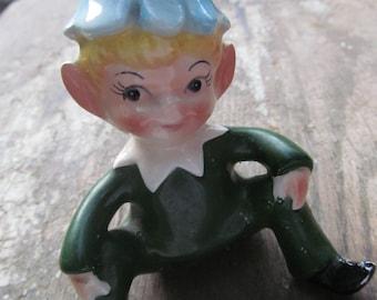 vintage little pixie with a flower cap