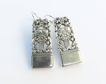 Corinthian Spoon Handle Earrings