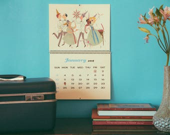 2018 Calendar - A Queer Mid Century - Wall Calendar Mid Century Gay Love & Romance Calendar Lesbian Queer LGBTQ - Felix dEon Calendar