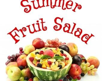 July FOTM Melter Tart - Summer Fruit Salad