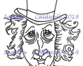 2082 Mr Willie Digi Stamp