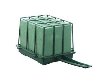 FLORAL CAGE 1/3 Brick w/Aquafoam -12/Pk