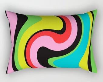 Decorative Pillow - Bold Color pillow - 14x20 Pillow Cover - Colorful pillow - Modern Pillow - Sofa Pillow - Modern pillow case