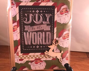 SOLD Set of 2 Handmade Christmas Cards - A7