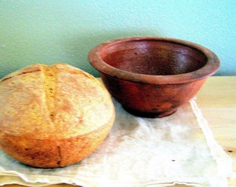 Bread Blessing Bowl of Mica Clay from New Mexico