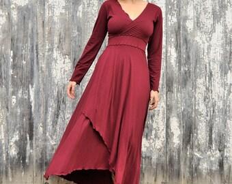 SALE! 50% OFF - Organic Black Maxi Dress - Yana Dee