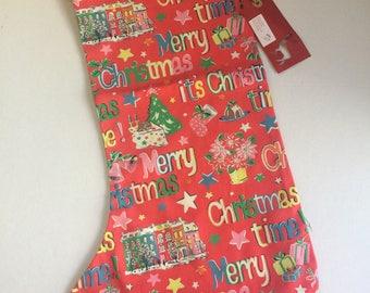 Cath Kidston fabric  christmas stockings
