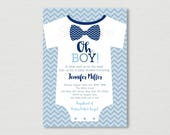 Cute Bow Tie Baby Shower ...