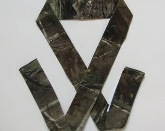Neck Cooling Band / Cooling Band / Neck Cooler /  Hot Flash Relief / Cooling Scarf / Camoflauge / Realtree