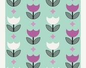 EXTRA 20 50% OFF Geometric Bliss Vertex Tulips Mint