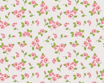ON SALE Riley Blake Designs Kewpie Love - Floral Cream