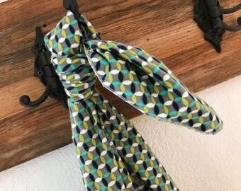 Grey + Navy X's Baby Blanket Swaddler: Receiving Blanket, Swaddling Blanket, Flannel Blanket