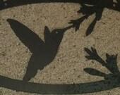 Custom Order Hummingbird sign for Stelarodriguez