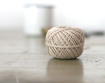 Premium Natural Soft Hemp Twine 200 ft - Cord/Yarn/Packaging/Jewelry Making/Gift Wrapping