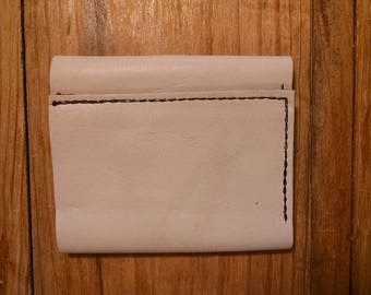 White bifold Wallet