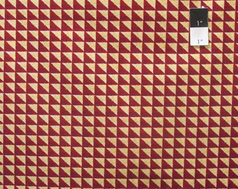 April Cornell PWAC021 Joy Joy Heritage Red Fabric By The Yard