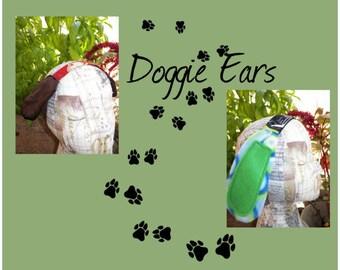 Halloween Doggie Puppy Ears Soft Headband Costume Ears Your Choice of Long or Short