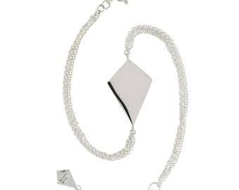 Metrica silver kite bracelet