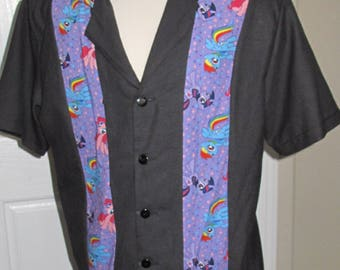 My Little Pony Men's bowling shirt in 7 sizes