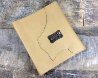 Safari Leather Photo Album - 50 pages