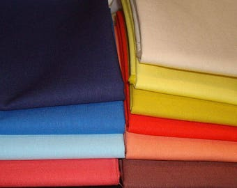 Sale! Ludlow Solids 10 Fat Eighths Denyse Schmidt for Free Spirit Fabrics