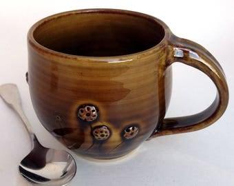 10oz. Ceramic Mug Prairie Theme