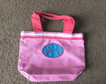 Sale Personalized Girls Tote Lunch Tote