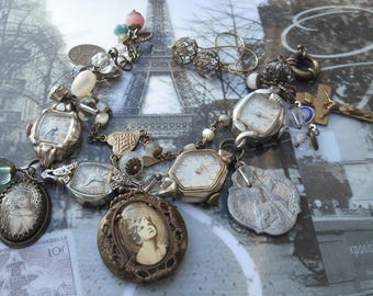 Time After Time Antique Watches Antique French Rosary Bracelet