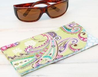Sunglass Case, Glass Sleeve, Cases for sunglasses , Funky Sunglasses case, Sunglass sleeves, Lime-aid Sunglass Case