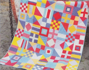 Cluck Cluck Sew Nautical Quilt Pattern