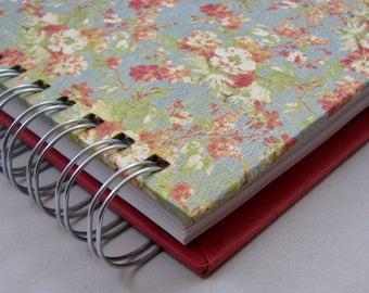 Triple Journal, Bullet Journal, Lined Notebook, Blank Journal, Graph Notebook, Sketching Journal,Square Journal, Blank Notebook, Floral