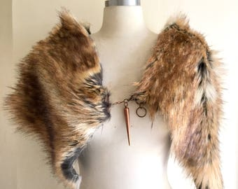 Faux Fur Wrap-Playa Gear for Men and Women