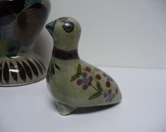 Cutest Little MexicanTonala Pottery Bird