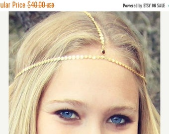SUMMER SALE CHAIN Headpiece- head chain headdress chain headpiece