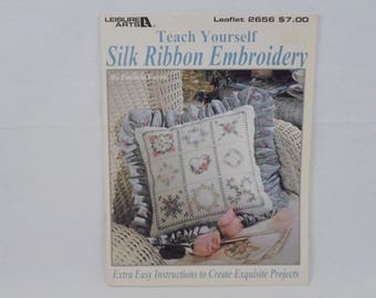 Teach Yourself Silk Ribbon Embroidery pattern book