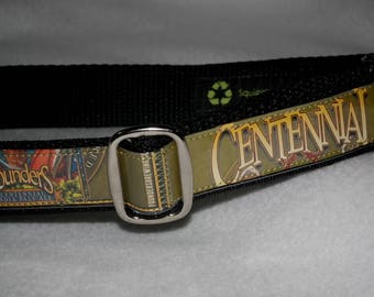 Adjustable Dog Collar from Recycled Founders Centennial IPA Beer Labels