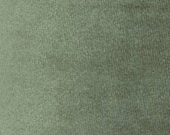 Super Soft MEADOW GREEN Washable Velvet Fabric Multipurpose UPHOLSTERY Apparel Home Decor